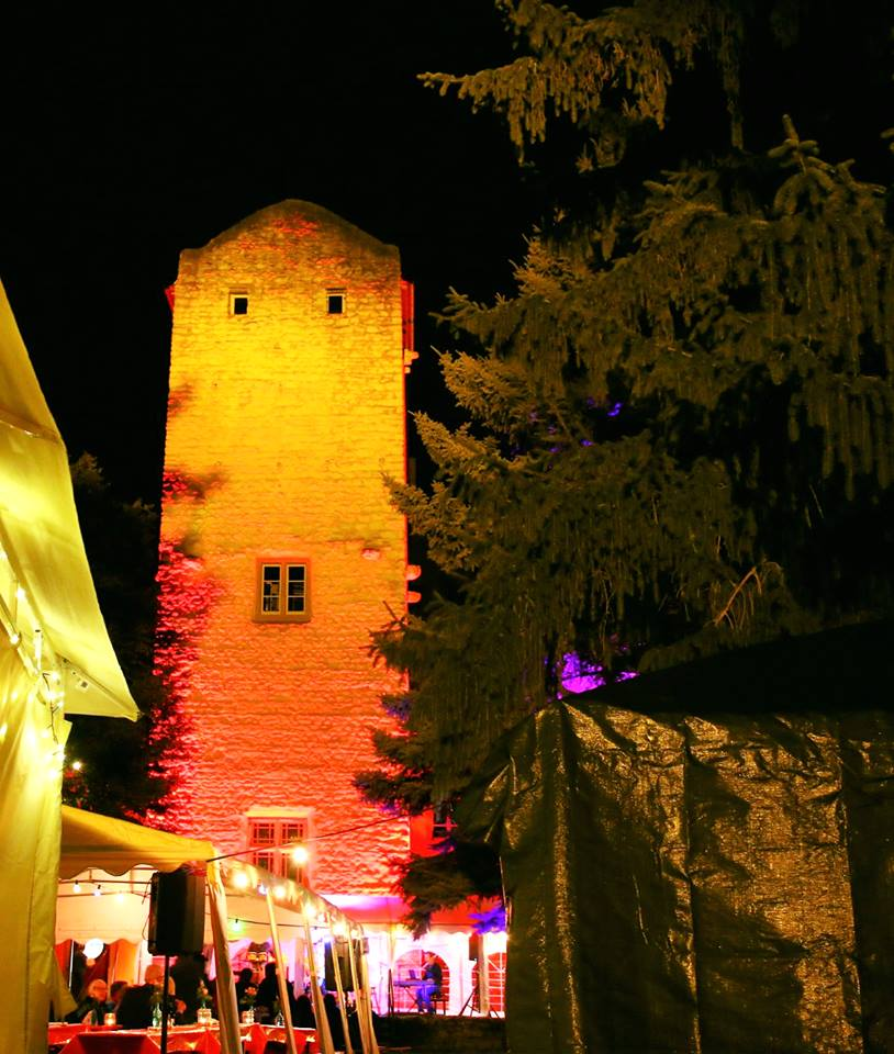 Beleuchtung Burg Windeck
