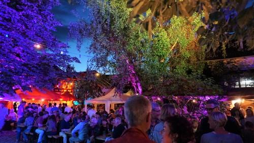 Beleuchtung Hoffest